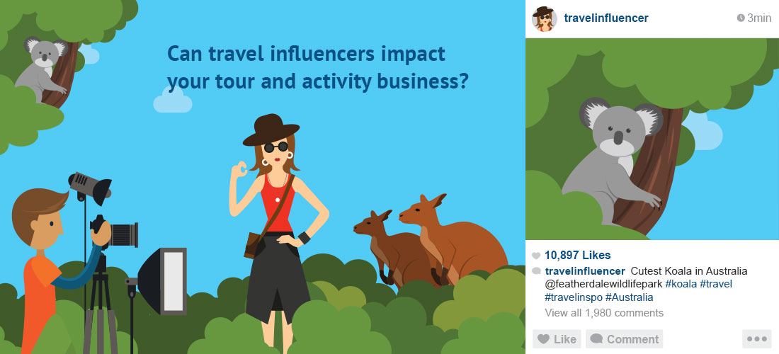 Can travel influencers impact your tour and activity business