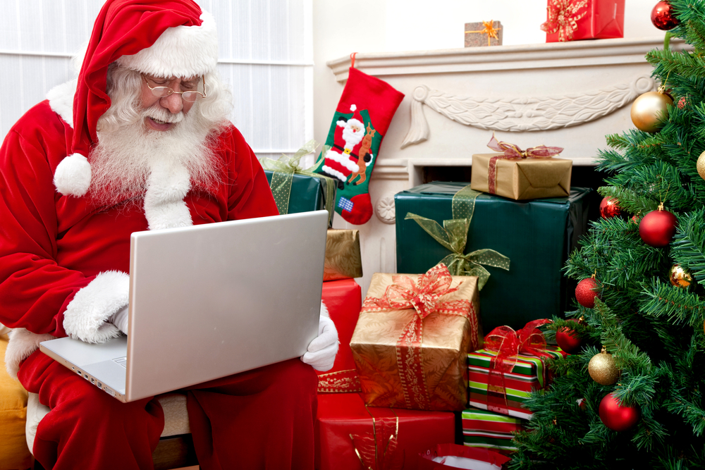 Even Santa buys experiences online as gifts!