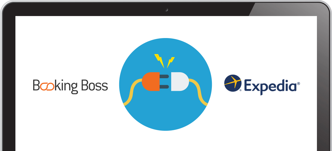 Booking Boss and Expedia are now connected via an API