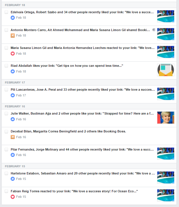 Tourism marketing must know: Facebook reactions