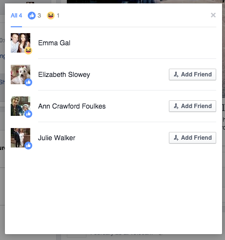 You can now react in new ways to Facebook posts