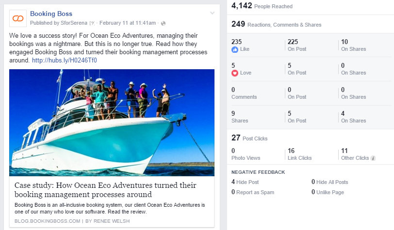 Facebook Reactions brings adds and new facet to tourism marketing